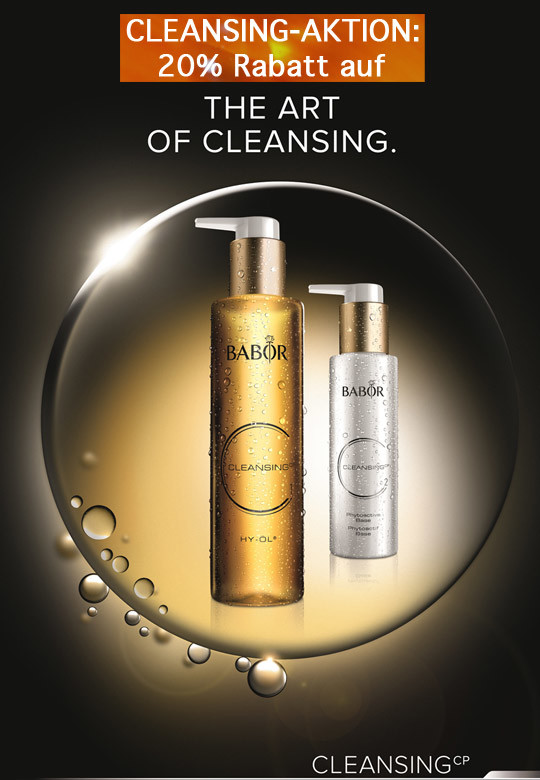 babor cleansing aktion