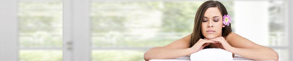 Entspannende Wellnessmassage