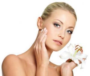 Feines Hautbild und Regeneration der Haut