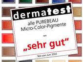 Farben permanent Make-up dermatologisch getestet