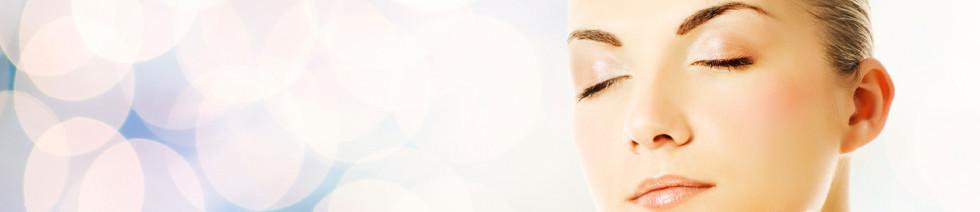 Reine und gepflegte Gesichtshaut nach einer Gesichtspflege