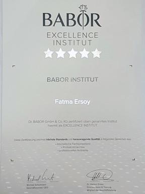 Von BABOR zertifiziertes Kosmetikinstitut